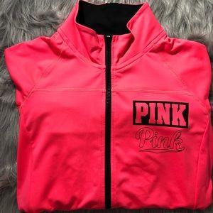 Full zip Victoria's Secret Pink sweater